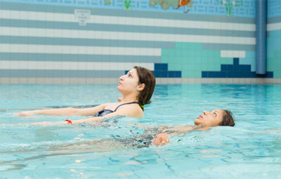 Volwassen zwemles