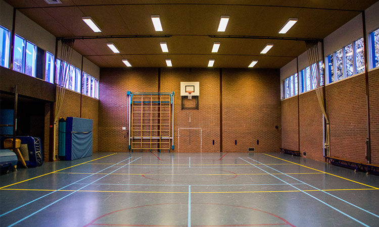 Gymlokaal Willem de Clerqstraat